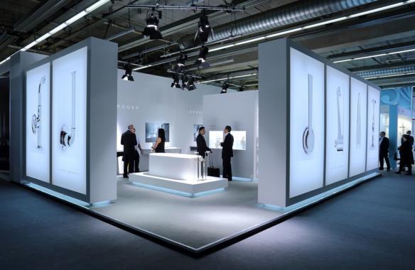 Exhibition Fabric LED Light Box