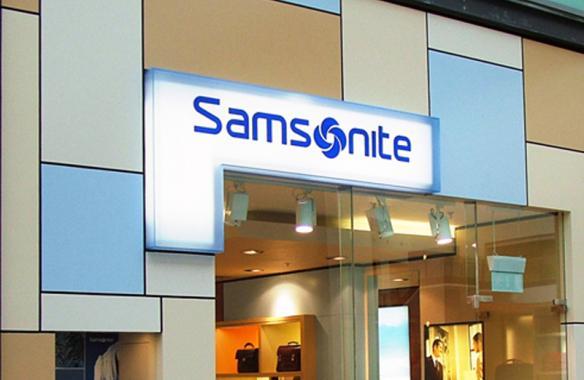 Samsonite - Illuminated Signs