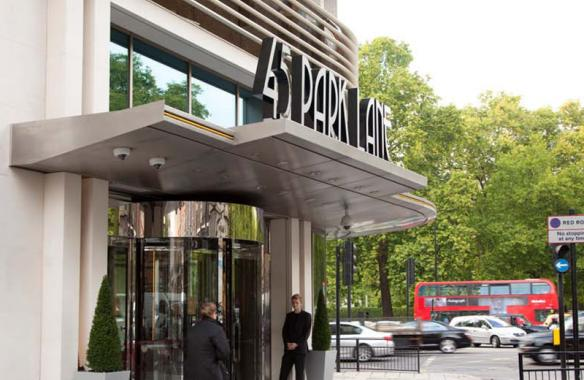 45 Park Lane - Hotel Signs - Built Up Text