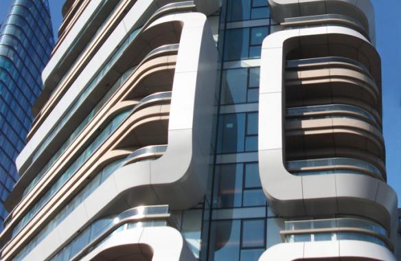 267 City Road, Aluminium Cladding