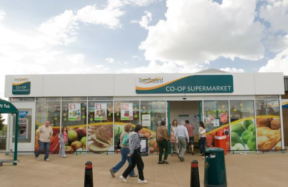 Main signs, Co-op East of England