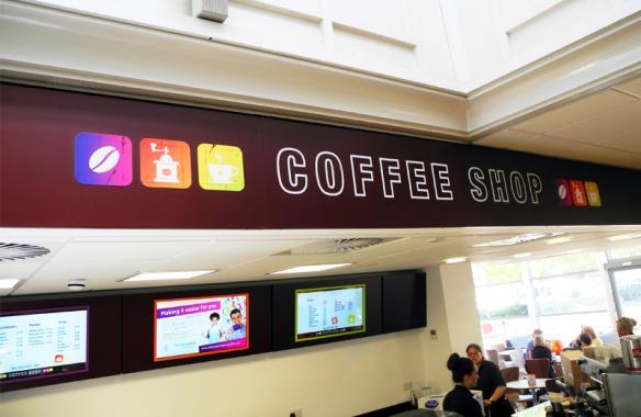Colchester leisure World - Digital Signs