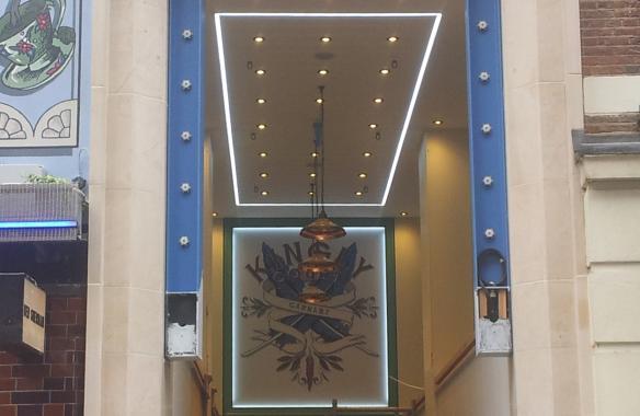 Kingly Court, Soho, Linear LED Installation (3528 Extrusion)