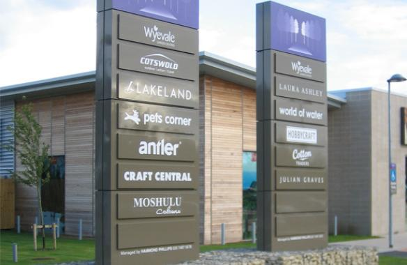 Wyvedale Business Park - Totem Signs
