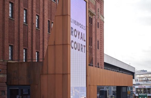 Royal Court Screen and Corten Cladding